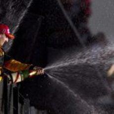 Kubica sube al podio en Australia