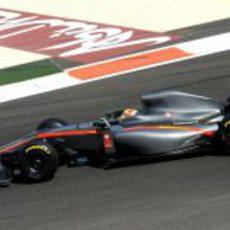 Pastor Maldonado a los mandos del Hispania limpio de patrocinadores