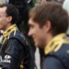 Robert Kubica en Cheste