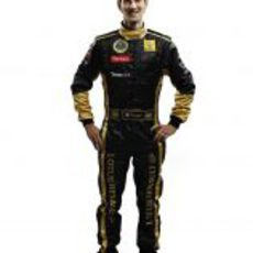 Romain Grosjean, tercer piloto de Lotus Renault GP en 2011