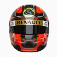 El nuevo casco de Robert Kubica en 2011