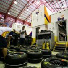 Los neumáticos de Renault