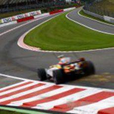 Gran Premio de Bélgica 2008: Viernes