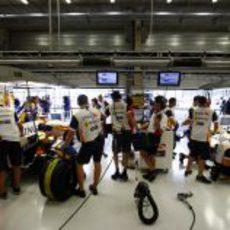 El box de Renault