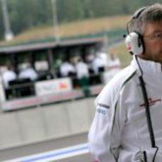 Brawn en el GP de Bélgica
