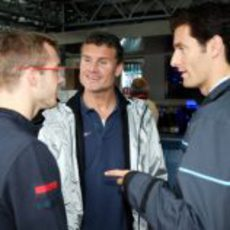 Bourdais, Coulthard y Webber