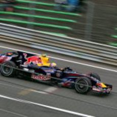 Webber en el GP de Bélgica