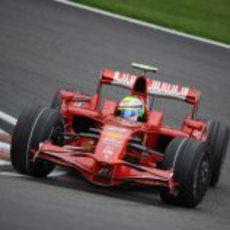 Massa en el GP de Bélgica