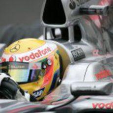 Hamilton en Spa