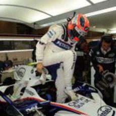 Kubica entra en el BMW