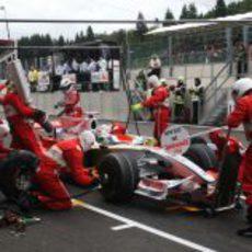 Gran Premio de Bélgica 2008: Sábado