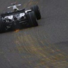 Rosberg en Eau Rouge
