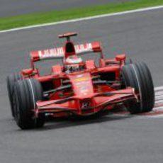 Raikkonen en la clasificación