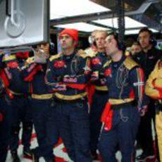 Los ingenieros de Toro Rosso