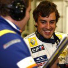 Alonso está contento