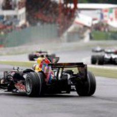 Coulthard se va por fuera