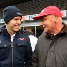 Vettel y Lauda