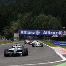 Rosberg en el GP de Bélgica