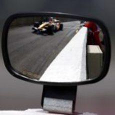 Piquet entra en boxes