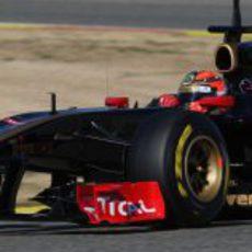 Kubica sigue dando vueltas con el R31