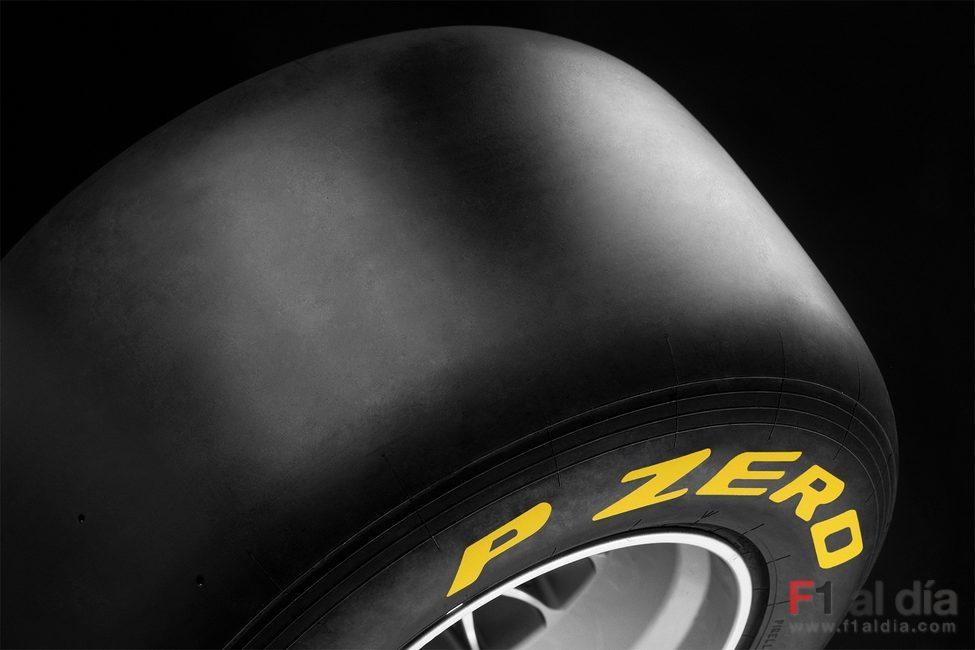 'P ZERO' es la marca de Pirelli para la Fórmula 1