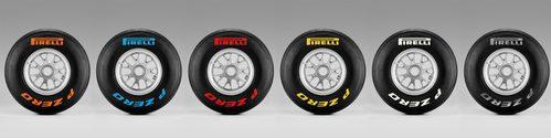 Gama completa de neumáticos Pirelli 'P ZERO'
