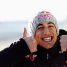 Daniel Ricciardo espera su oportunidad