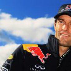 Webber, feliz por correr en su país