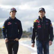 Ricciardo encantado con Red Bull y Mark Webber