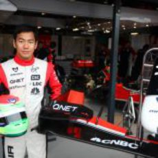 Yamamoto, nuevo piloto reserva de Virgin