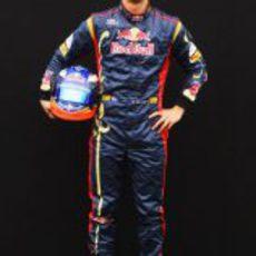 Daniel Ricciardo posando