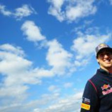 Ricciardo, en las nubes