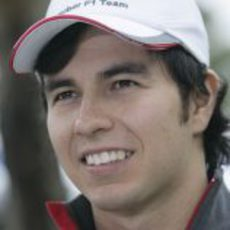 """Checo"" Pérez en Melbourne"