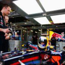 Vettel ya trabaja en el RB7