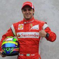 Foto oficial de Felipe Massa para la temporada 2011