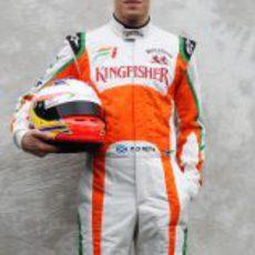 Foto oficial de Paul di Resta para la temporada 2011