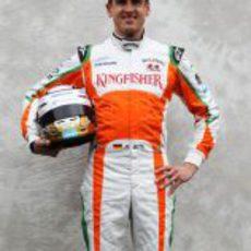 Foto oficial de Adrian Sutil para la temporada 2011