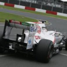 Pérez en el Sauber C30 en Albert Park
