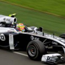 Maldonado rodando en Australia