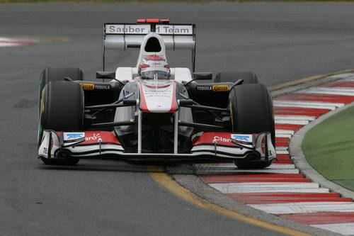 Kobayashi entró en la Q3