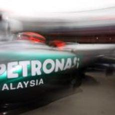 Michael Schumacher sale a clasificar
