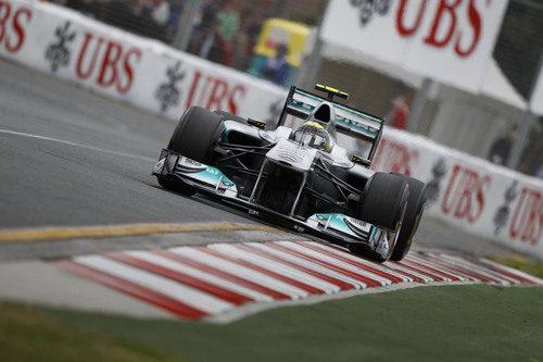 Nico Rosberg clasificó en séptima posición