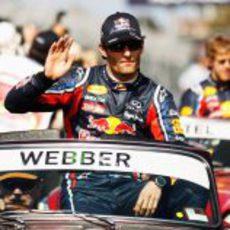 Webber ante su afición