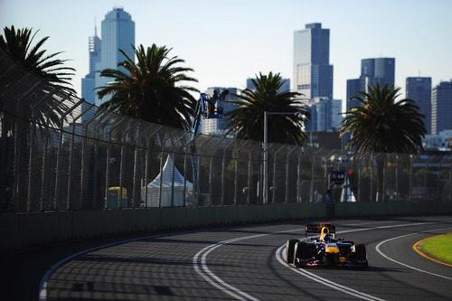 Sebastian Vettel venció en el GP de Australia