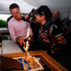 Coulthard celebra su 40 cumpleaños