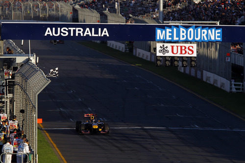 Bandera a cuadros para Vettel