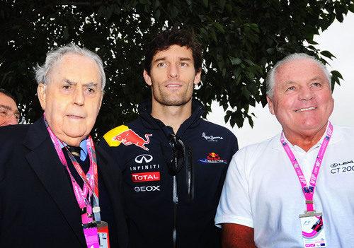 Brabham, Jones y Webber