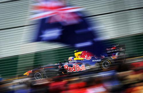Australia con Webber