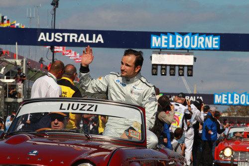 Liuzzi no pudo competir