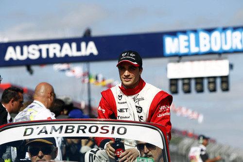 D'Ambrosio en el Drivers' Parade